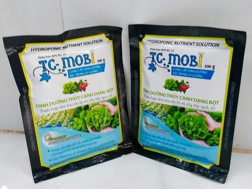 BỘT DINH DƯỠNG THỦY CANH TC- MOBI