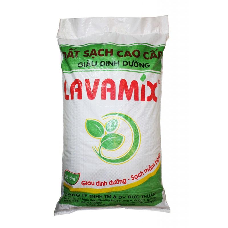 Đất sạch cao cấp Lavamix