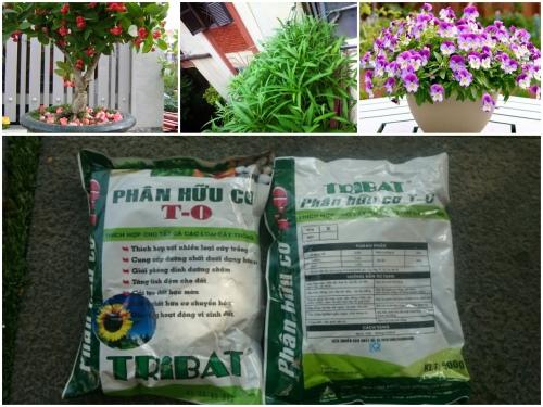 Phân hữu cơ Tribat T-O 500gram